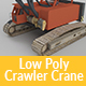 Low Poly Crawler Crane