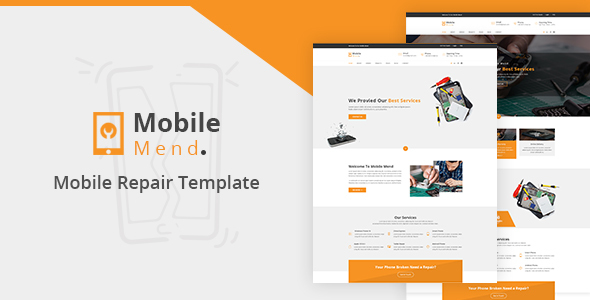 Mobile Mend - Mobile Repair HTML Template