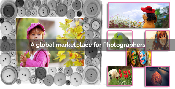 PhotoCram – Marketplace For Stock Photos (PHP Scripts) images