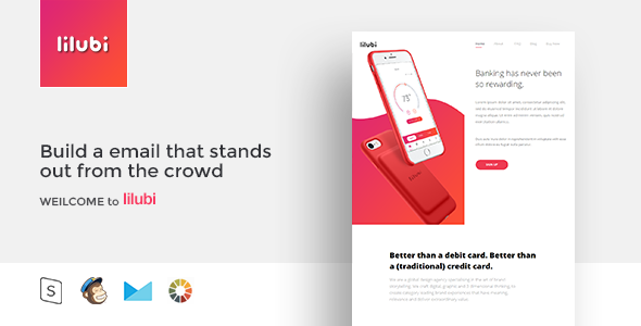 lilubi - Responsive Email Template