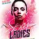 Sexy Ladies Party Flyer
