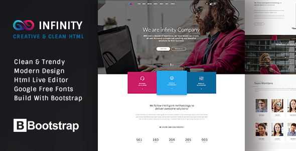 INFINITY - Multipurpose HTML Template