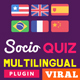 Multilingual plugin for SocioQuiz Viral Quiz script