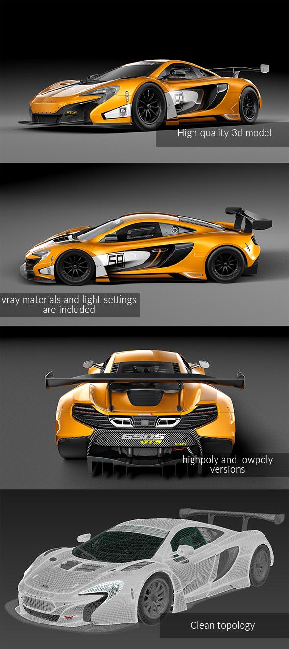 3DOcean McLaren 650S GT3 2014 19910712