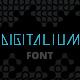 Digitalium Future Font