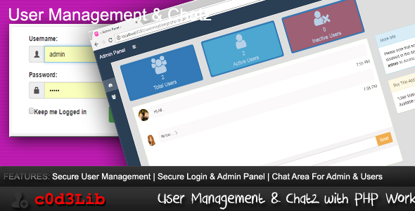 User Management & Chatz