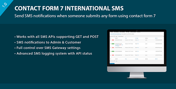 Contact Form 7 International SMS