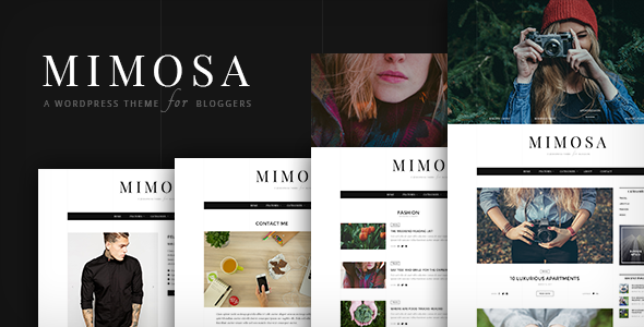 Mimosa | WordPress Theme for Bloggers