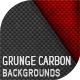 10 Grunge Carbon Backgrounds