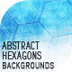 10 Abstract Hexagons Backgrounds