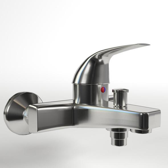 3DOcean Faucet Single Lever Wall Mixer 19912749
