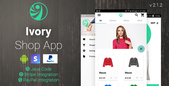 Ivory Shop - eCommerce App - CodeCanyon Item for Sale