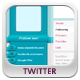 High and Clean Twitter Backgrounds - GraphicRiver Item for Sale