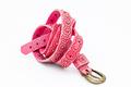 Pink women belts