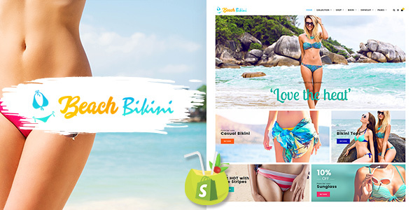 Bikini Beach - Lingerie, Bikini Shopify Theme