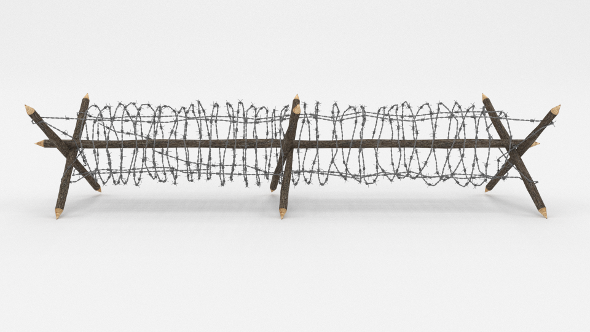 3DOcean Barb Wire Obstacle 4 19917492