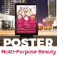 Multi-Purpose Beauty Poster Template