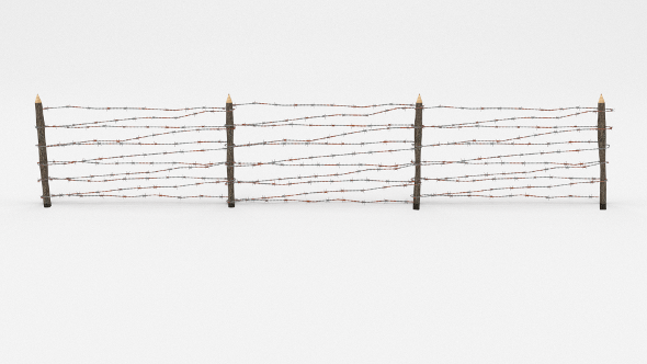 3DOcean Barb Wire Obstacle 7 19917705