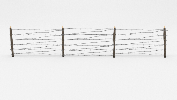 3DOcean Barb Wire Obstacle 8 19917747