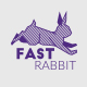 Rabbit Creative Logo Template