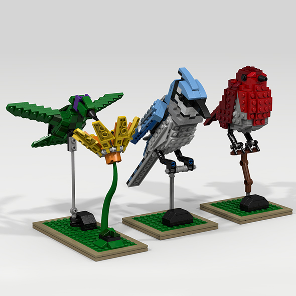 3DOcean Lego birds 19918527