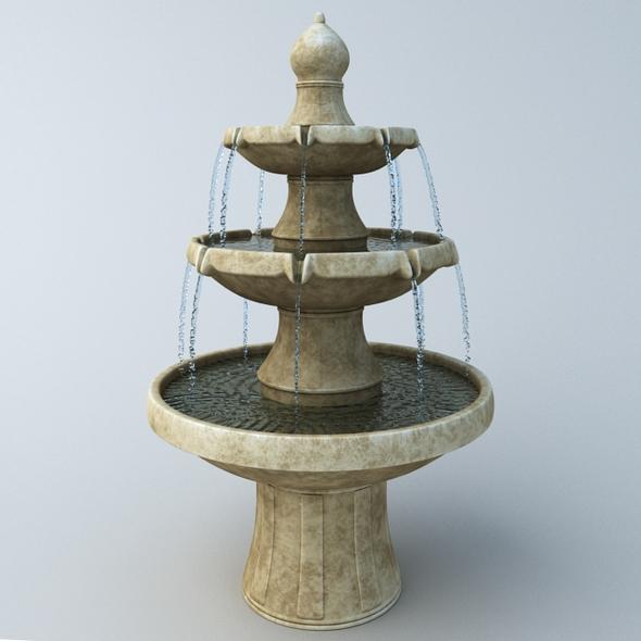 3DOcean Fountain 19918705