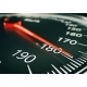 Speedometer Close Up - 3d Rendering