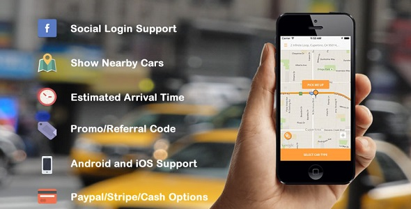 taxi booking uber clone android script ,with back end admin panel