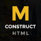 Construction - Construction Business, Building Company Template