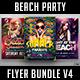 Beach Party Flyer Bundle V4