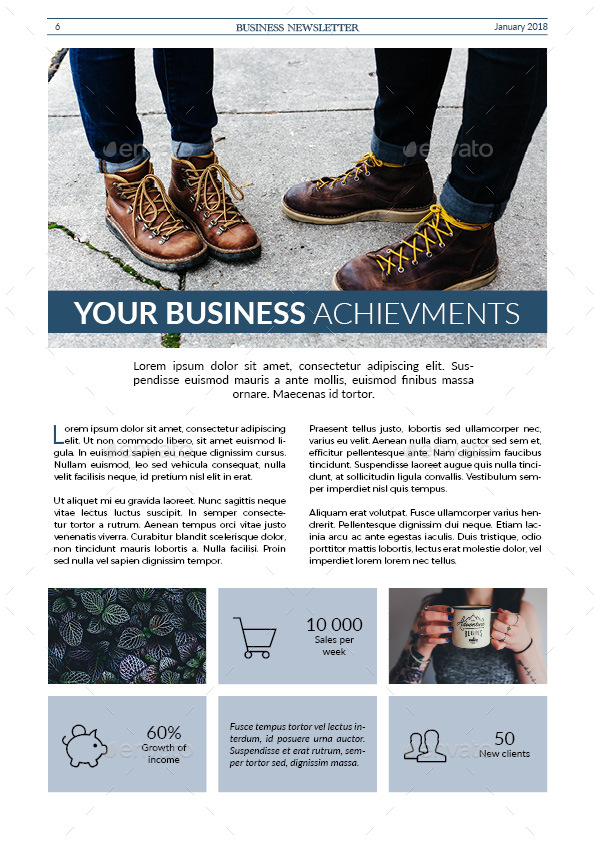 Business Newsletter by GrizzlyDesign – Business Newsletter