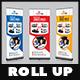Rent a Car Roll-Up Banner