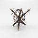 Lowpoly Barb Wire Obstacle 5
