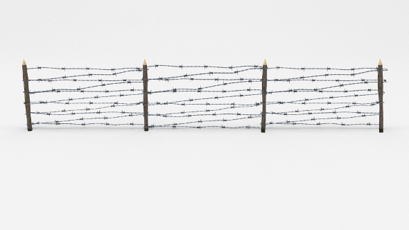 3DOcean Lowpoly Barb Wire Obstacle 8 19923178
