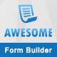 Awesome - Angular JS form builder