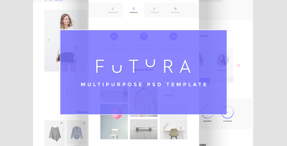Futura - Multipurpose PSD Template