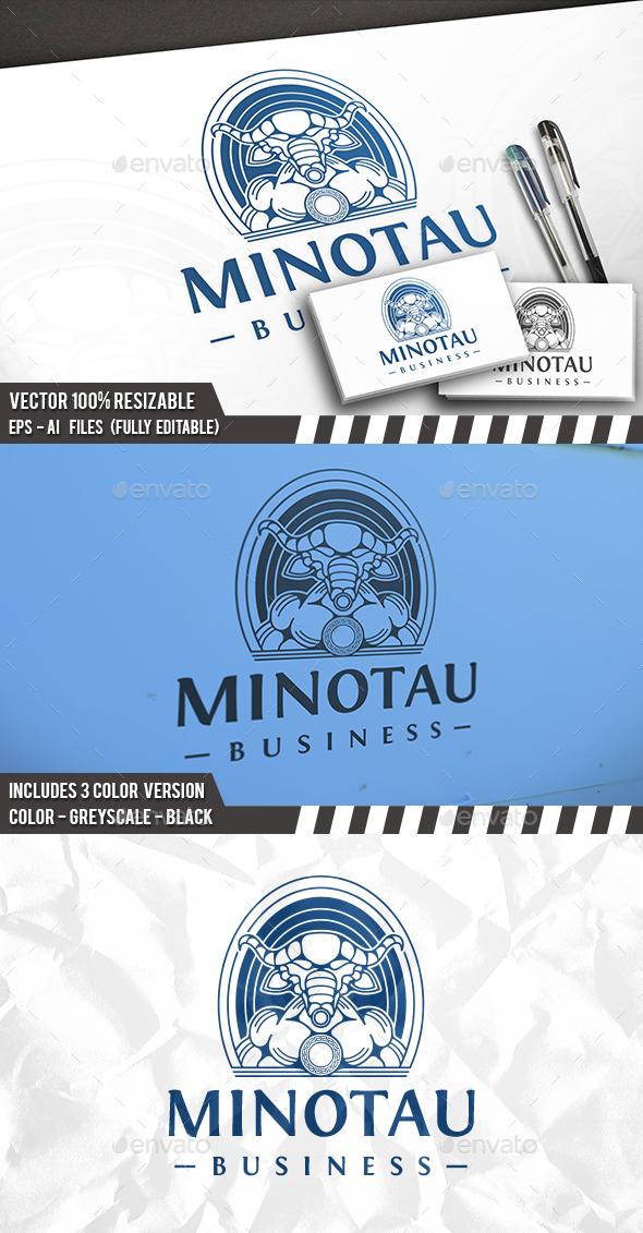 Minotaur Logo Template