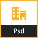 Yellow Builder- Construction Psd Template