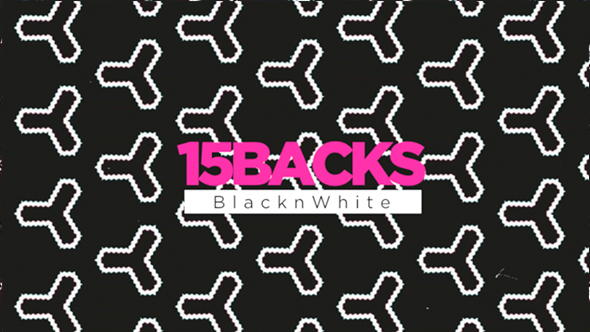 VideoHive 15 Backs Black n White 19926385