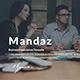 Mandaz - Creative Google Slide Template