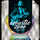 Acoustic Zone Flyer / Poster