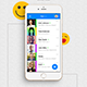 YooHoo - Modern Mobile Chatting App UI SET