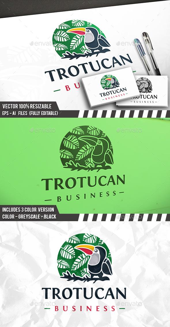 Tropical Toucan Logo