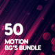 50 Abstract Motion Backgrounds Bundle