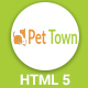 PetTown - Blog & Shop Responsive Template