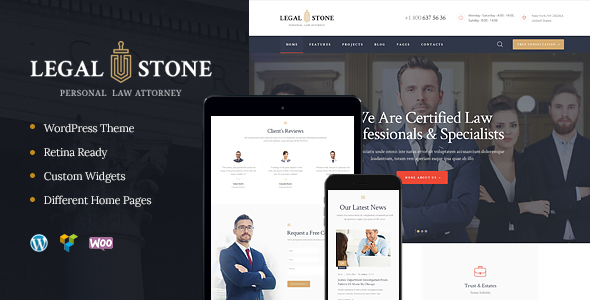 Download Legal Stone | Lawyers & Attorneys WP Theme