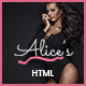 Alice's | Lingerie Store HTML Template