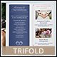 Wedding Planner A4 / Letter Trifold