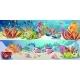 Cartoon Bright Marine Life Horizontal Banners
