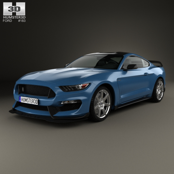 3DOcean Ford Mustang Mk6 Shelby GT350R 2015 19933135